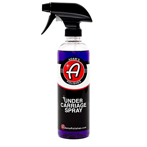 Adam's Invisible Undercarriage Spray 16oz - Quick and Easy to Use - Turn Your Wheel Wells Invisible - Leaves a Black Satin Finish Polish Well