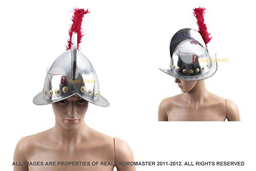 Spanish Conquistador Armor Costume (Swordmaster - SPANISH MORION HELMET ~SPANISH OFFICER HELMET~ SPANISH ARMOR ~MEDIEVAL COSTUME)