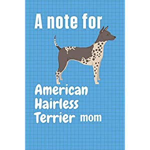 A note for American Hairless Terrier mom: For American Hairless Terrier Dog Fans 34
