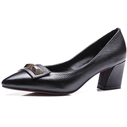 Nine SevenPump Shoes - Sandalias con cuña mujer negro