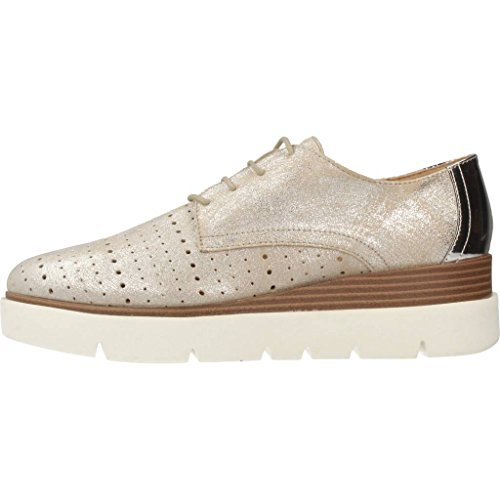 D827PA 077BN Plateado Geox Mujeres Zapatos 0gpd8qw8