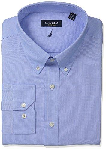 Nautica Mens Oxford Button Collar