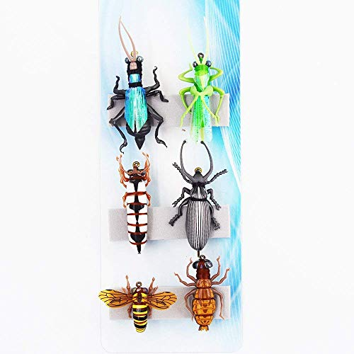 Grub Dung Beetle Larva Wet Fly Fishing Lure Stream