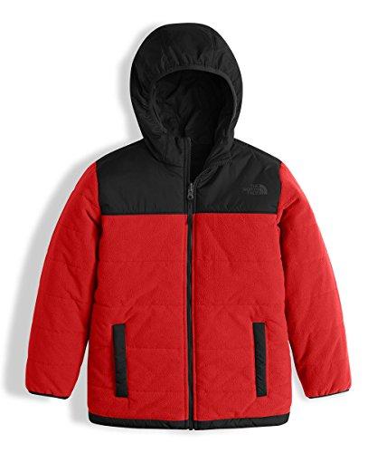 The North Face Big Boys' Reversible True/False Jacket - red/black, m/10-12