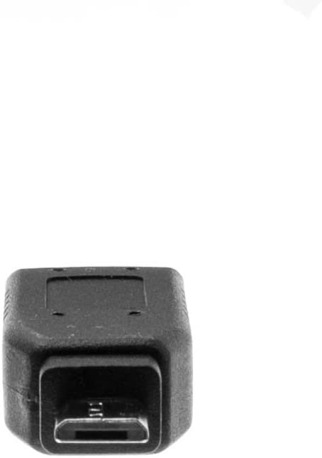 GOWOS USB Mini-B 5pin Female to USB Micro B Male Adapter 3 Pack