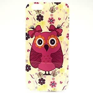 ZXSPACE Cute Owl Pattern TPU Soft Cover for iPhone 6