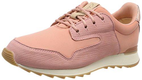 Clarks Damen Floura Mix Sneaker Pink (Pink Combi)