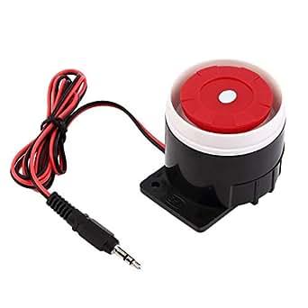 Sirenas Alarma Sistema de Alarma de Bocina Kit Antirrobo ...