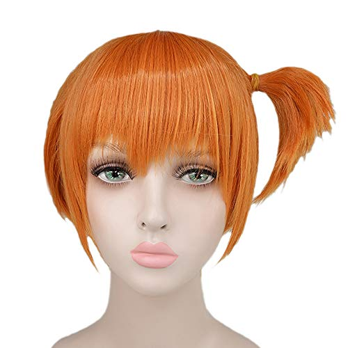 Misty Wig Short Orange Hair Pokémon Halloween Costume Wig