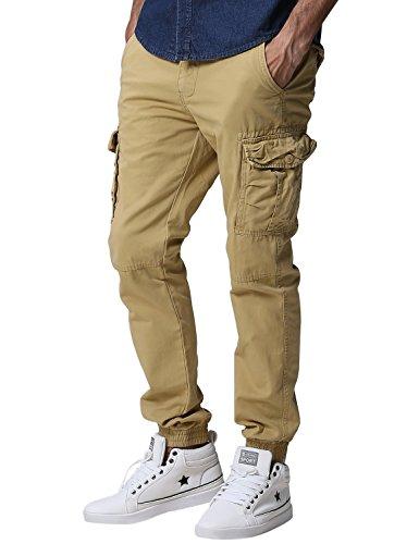 Match Mens Twill Jogger Pants