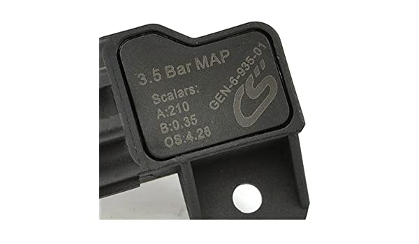 corksport 2007 - 2013 Mazdaspeed 3, 2006 - 2007 Mazdaspeed 6, Turbo CX7 - MZR DISI Motor - Mazda directo OEM Fit - 3,5 bar colector sensor de presión ...