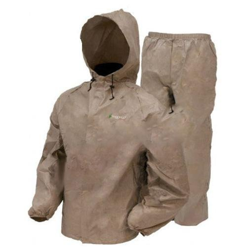 Frogg Toggs Women's Ultra-Lite Rain Suit, X-Large, Khaki