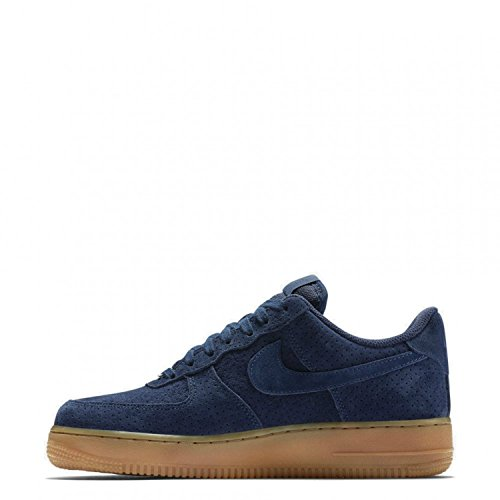 Nike Women's Air Force 1 07′ Suede Midnight Navy 749263-400 (SIZE: 10)