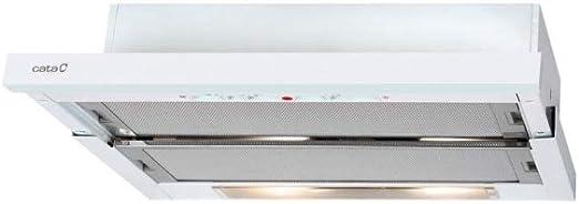 CATA TF 5260 WH 325 m³/h Encastrada Blanco D - Campana (325 m³/h, Canalizado/Recirculación, E, E, D, 69 dB): Amazon.es: Grandes electrodomésticos