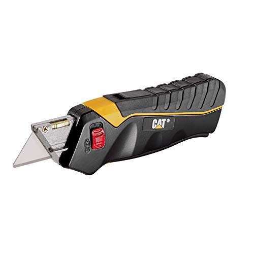 Cat Safety Utility Knife Box Cutter Self-Retracting