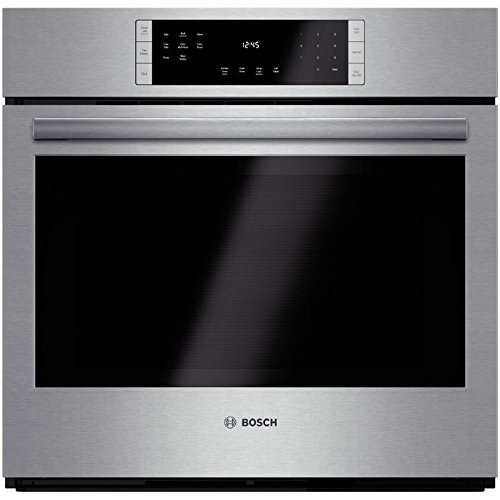 Bosch HBL8451UC 800 30″ Stainless Steel Electric Single Wall Oven – Convection