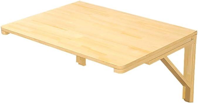 Amazon.com: ERRU- Wooden Wall Mounted Table - Fold Down Drop ...