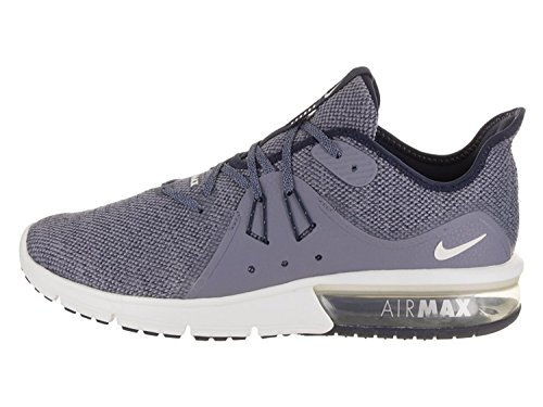 best loved fe6a4 e099a NIKE Air Max Sequent 3 Sz 10.5 Mens Running ObsidianSummit White-Dark Sky