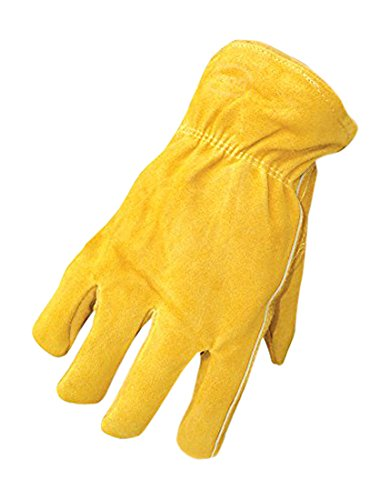 Boss Gloves 7186M Therm Insulated Split Deerskin Leather Driver, Medium
