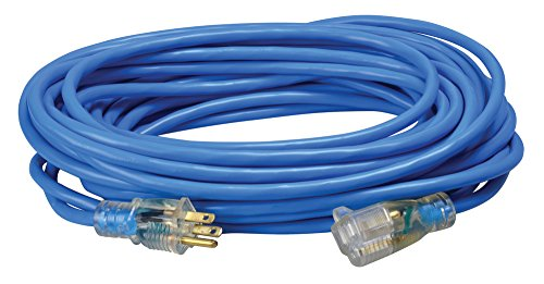 Coleman Cable Systems 02468 14/3 SJTW Low-Temp Outdoor Ex...