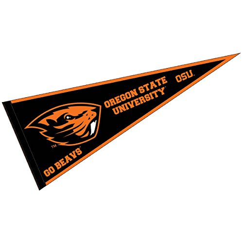 (College Flags and Banners Co. Oregon State Beavers Pennant Full Size Felt )