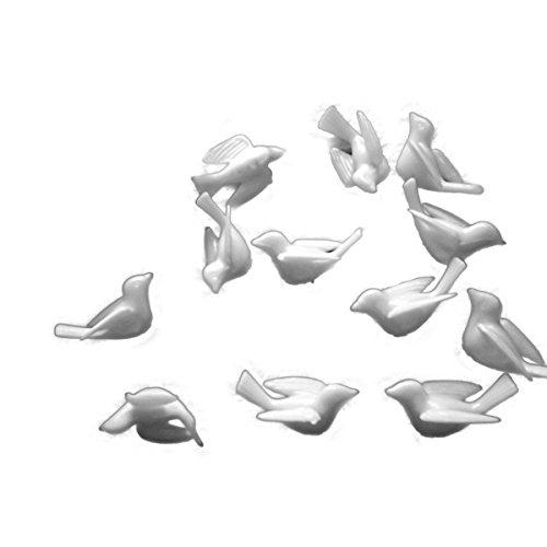 - Dove, White Plastic 1.5