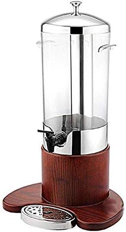 密封された瓶の飲料ディスペンサー-ステンレス鋼の単一のヘッドジュースの三脚のビュッフェのミルクジュースのバケツの冷たい飲み物機械コマーシャル5L