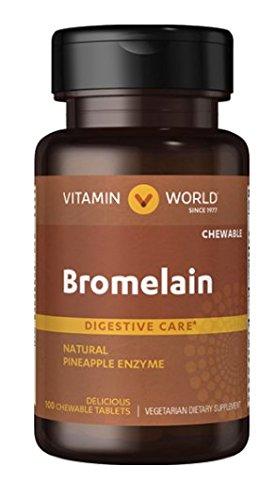 Vitamin World Pineapple Bromelain by Vitamin World
