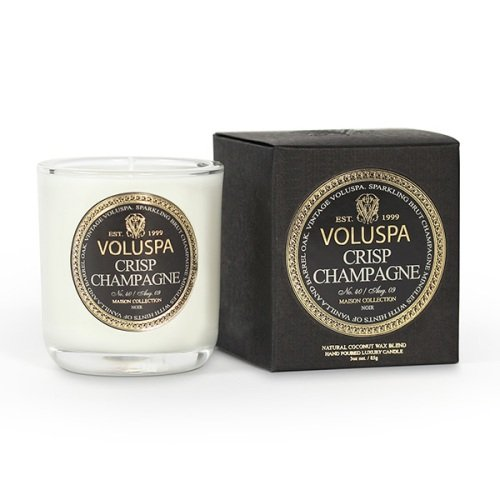 Voluspa Classic Boxed Votive Candle, Crisp Champagne, 3 Ounce ()