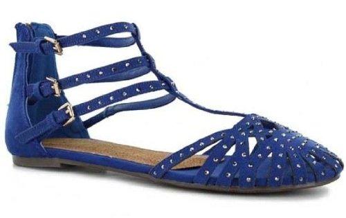 Xti 26701 Blu Nuove Donne Summer Ankle Strap Sandals Scarpe