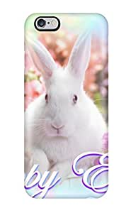 Iphone 6 Plus Case, Premium Protective Case With Awesome Look - Happy Easter Rabbit