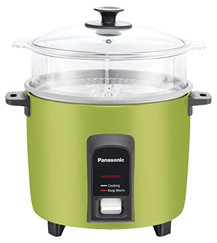 Panasonic 12 Cup (Uncooked) Automatic Rice Cooker/Steamer, Green