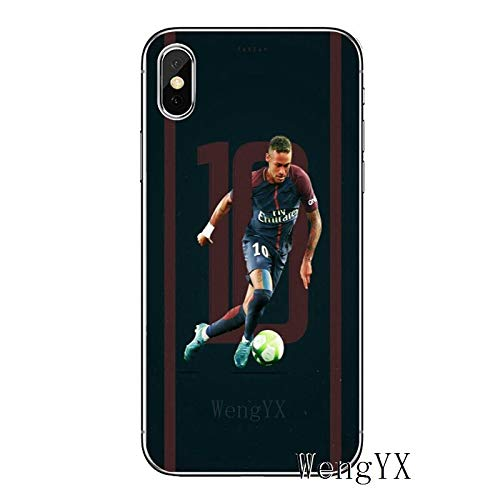 Stuff Hats Kids Pants 33016394562 Inspired by Neymar football soccer team fc Phone Case Compatible With Iphone 7 XR 6s Plus 6 X 8 9 11 Cases ProXS Max Clear Iphones Cases TPU