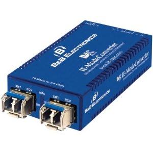 IMC Networks Ie-modeconverter Sfp/sfp Ac Pwr 2 Fiber Sfps for 100MB/2.4GB