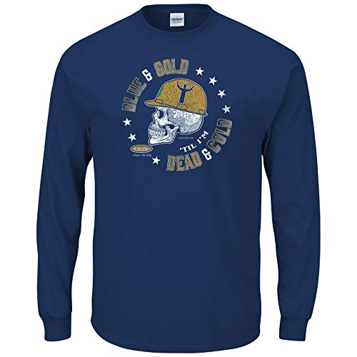 blue and gold football jersey - 2