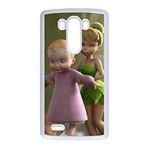 Tinker Bell and the Great Fairy Rescue LG G3 Cell Phone Case White Phone cover U8485338
