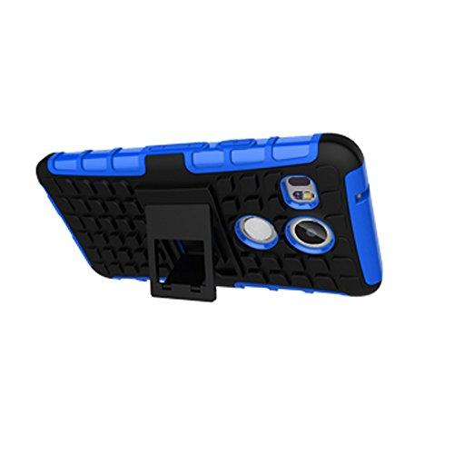 LG Nexus 5X Funda,COOLKE Duro resistente Choque Heavy Duty Case Hybrid Outdoor Cover case Bumper protección Funda Para LG Nexus 5X - verde Azul