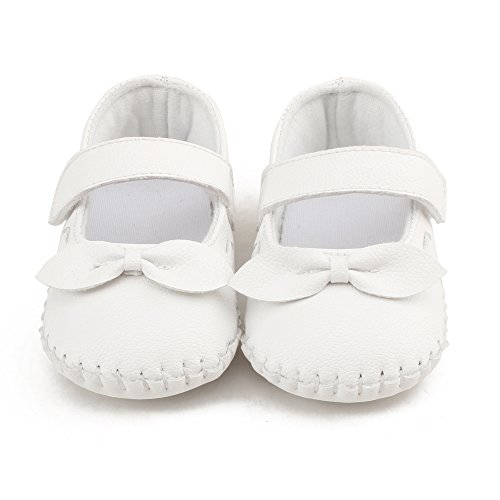 oosaku-baby-girls-bowknot-hook-and-loop-mary-jane-dress-shoes-0-3-months-white