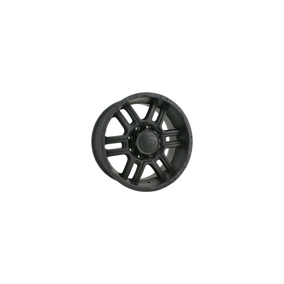Alloy Ion Style 179 16 Matte Black Wheel / Rim 8x6.5 with a 10mm Offset and a 130.8 Hub Bore. Partnumber 179 6881MB