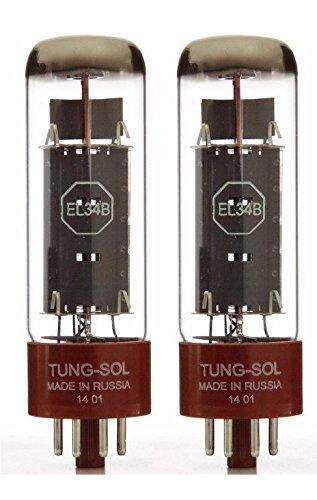 Tungsol EL34B, Matched Pair Tung-Sol