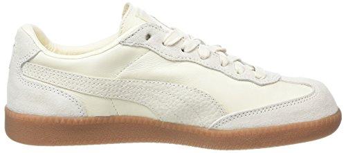 White Erwachsene Unisex Puma Whisper Beige Liga White Whisper 01 White Lederturnschuhe für I8qqBTw
