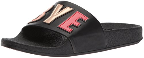 Women's Bye Circus Boy Sandal by Black Flynn Edelman bye black Slide Sam boy qtgr1zt