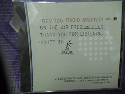 Rev 105 Radio Archive Volume 1