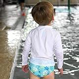i Play Boys Swim Diaper Aqua Hawaiian Turtle-12