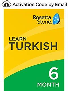 Rosetta Stone: Learn Turkish for 6 months on iOS, Android, PC, and Mac- mobile & online access [PC/Mac Online Code] (B07D9BC832) | Amazon price tracker / tracking, Amazon price history charts, Amazon price watches, Amazon price drop alerts