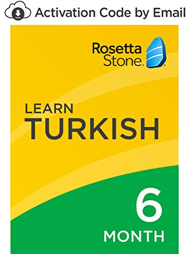 Rosetta Stone: Learn Turkish for 6 months on iOS, Android, PC, and Mac- mobile & online access [PC/Mac Online Code]