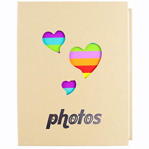 NLC Big Photo Album Baby Journal Photo Album 5x7 inches,100 Photos Children's Pictures Album,Family Photo Album (Nlc Gift Christmas)