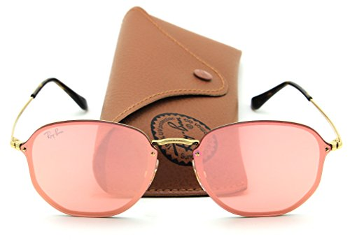 Ray-Ban RB3579N BLAZE HEXAGONAL Sunglasses 001/E4, - Ban Ray Round Blaze