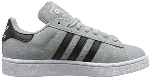 size 40 7fc72 c5628 adidas Originals Campus J Shoe (Big Kid), GreyBlackWhite,