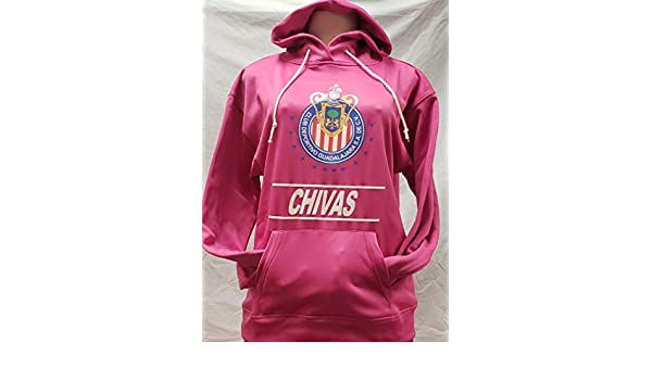 Ladies Club Chivas de Guadalajara Sudadera de Gorro Hoodie Size XL : Sports & Outdoors